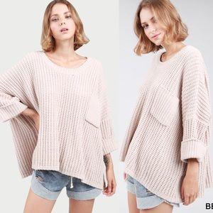 ANGELINA Softest Sweater - BEIGE